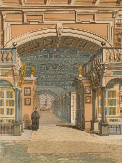 'The Bodleian Library, Oxford', c1845, (1864)-Unknown-Giclee Print
