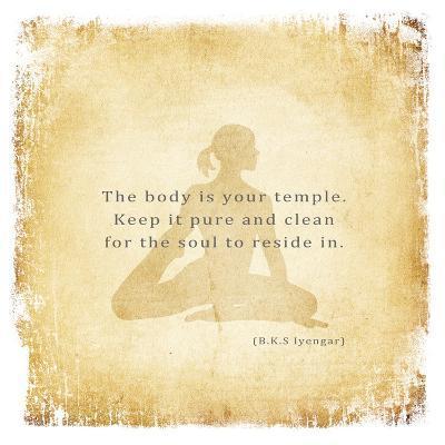 The Body is Your Temple-Veruca Salt-Art Print