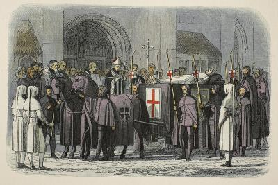 The Body of Richard II Brought to St Paul's Cathedral-James William Edmund Doyle-Giclee Print