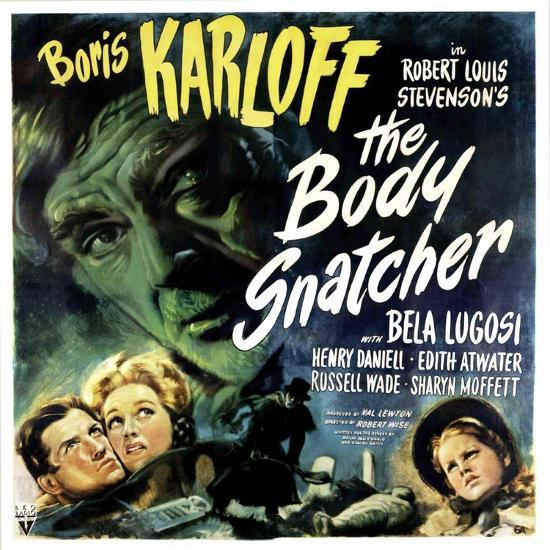 The Body Snatcher, Boris Karloff (Top), Sharyn Moffett (Bottom, Right), 1945--Photo