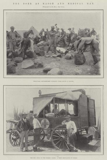 The Boer as Mason and Medical Man--Giclee Print