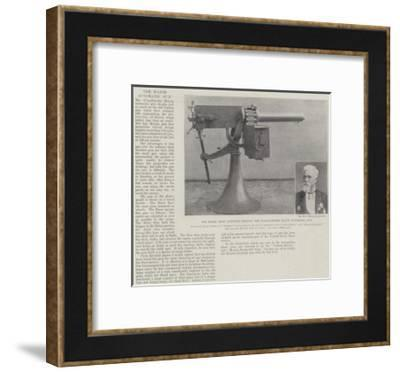 The Boers' Most Annoying Weapon, the 37-Millimetre Maxim Automatic Gun--Framed Giclee Print