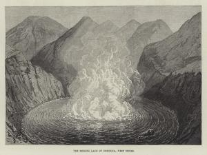 The Boiling Lake of Dominica, West Indies