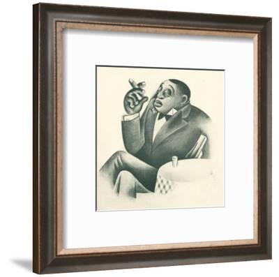The Bolito King No. 43-Covarrubias-Framed Art Print
