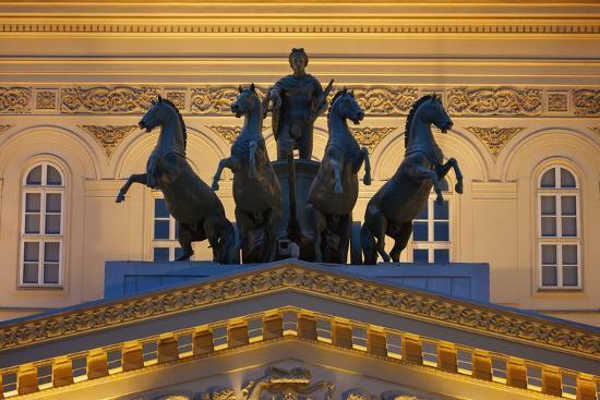 The Bolshoi Theatre-Jon Hicks-Photographic Print