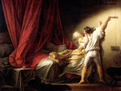 The Bolt, circa 1778-Jean-Honor? Fragonard-Giclee Print