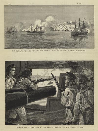The Bombardment of Alexandria-Charles Joseph Staniland-Giclee Print