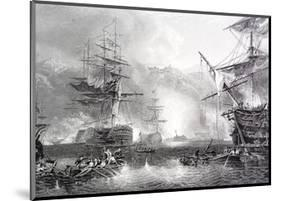 The Bombardment of Algiers-null-Mounted Giclee Print