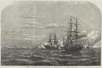 The Bombardment of Odessa-William Adolphus Knell-Giclee Print