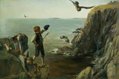 The Bonxie, Shetland, 1873-James Clarke Hook-Giclee Print