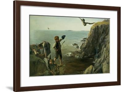The Bonxie, Shetland, 1873-James Clarke Hook-Framed Giclee Print