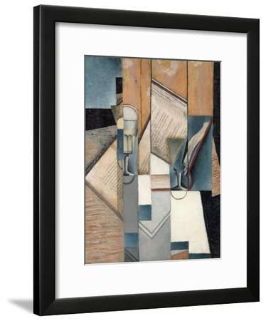 The Book, 1913-Juan Gris-Framed Giclee Print