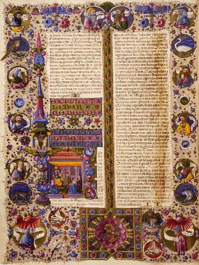 The Book of Exodus, from Volume I of Bible of Borso D'Este--Giclee Print