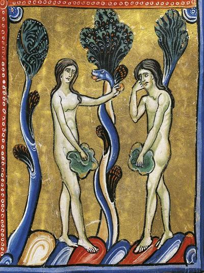 The Book of Genesis: the Original Sin of Adam and Eve--Giclee Print