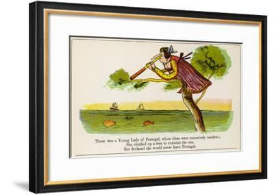 The Book of Nonsense--Framed Giclee Print
