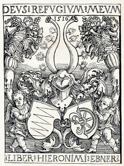 The Bookplate of Jerome Ebner, 1516-Albrecht D?rer-Giclee Print