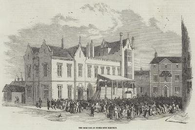 The Borough of Tynemouth Election--Giclee Print