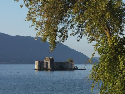 The Borromeo's Castles, Cannobio, Lake Maggiore, Italian Lakes, Piedmont, Italy, Europe--Photographic Print