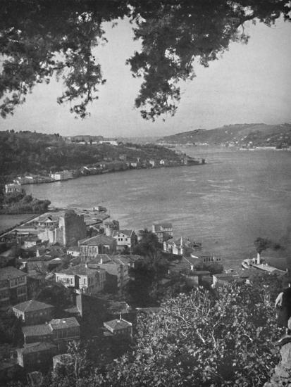 'The Bosphorous - Constantinople in the distance', 1913-Unknown-Photographic Print