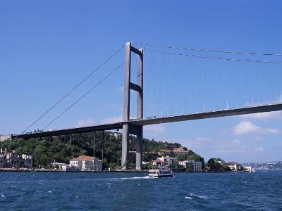 The Bosphorus Bridge, Istanbul, Turkey-R H Productions-Photographic Print