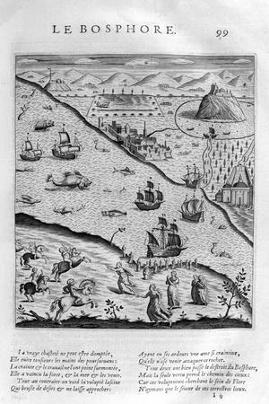 The Bosporus or Bosphorus, 1615-Leonard Gaultier-Giclee Print