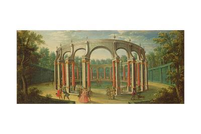 The Bosquet De La Colonnade at Versailles, Early Eighteenth Century--Giclee Print