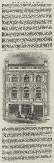 The Boston Athenaeum--Giclee Print