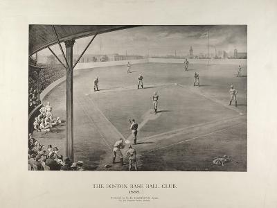 The Boston Base Ball Club--Giclee Print