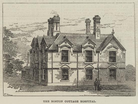 The Boston Cottage Hospital--Giclee Print