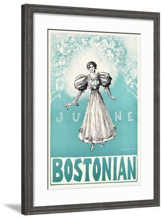 The Bostonian, June--Framed Art Print