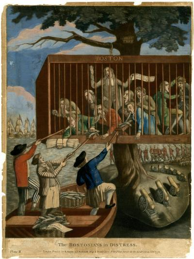 The Bostonians in Distress, 1774--Giclee Print