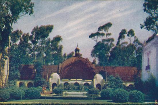 'The Botanical Building', c1935-Unknown-Giclee Print