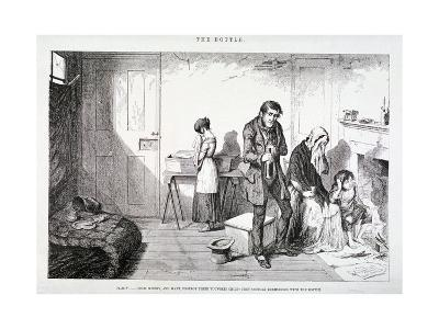 The Bottle, 1847-George Cruikshank-Giclee Print