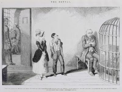 The Bottle, Plate VIII, 1847-George Cruikshank-Giclee Print