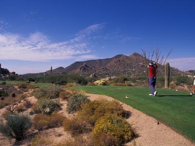The Boulders Golf Course, Scottsdale, Arizona-Bill Bachmann-Photographic Print