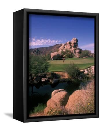 Art print POSTER CANVAS 12th Hole of South Course at The Boulders Club
