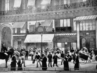 The Boulevards of Paris-Charles Castellani-Giclee Print