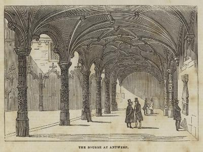 The Bourse at Antwerp--Giclee Print
