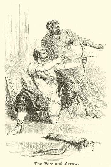 The Bow and Arrow--Giclee Print