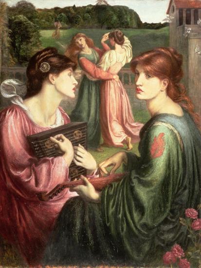 The Bower Meadow, 1850-72-Dante Gabriel Rossetti-Giclee Print