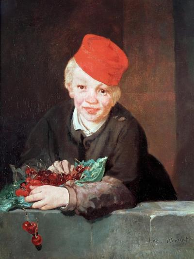 The Boy with the Cherries, 1859-Edouard Manet-Giclee Print