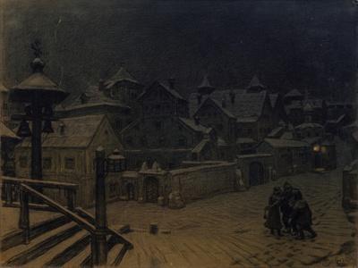 The Boyars' Mansions Sleeping, 1918-Appolinari Mikhaylovich Vasnetsov-Giclee Print