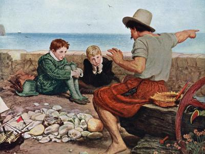 The Boyhood of Raleigh, 1908-1909-John Everett Millais-Giclee Print