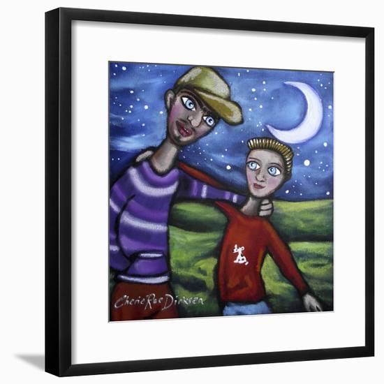 The Boys-Cherie Roe Dirksen-Framed Giclee Print