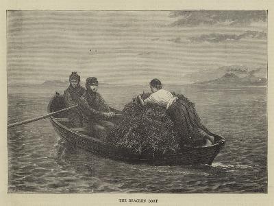 The Bracken Boat--Giclee Print