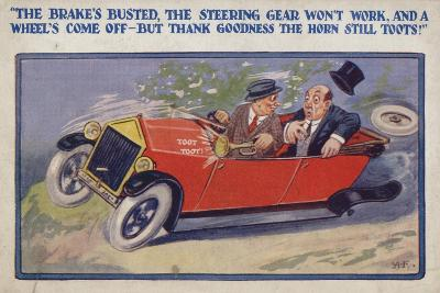"""""""The Brake's Busted--Giclee Print"""