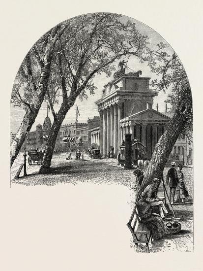 The Brandenburger Thor, Berlin, Germany, 19th Century--Giclee Print