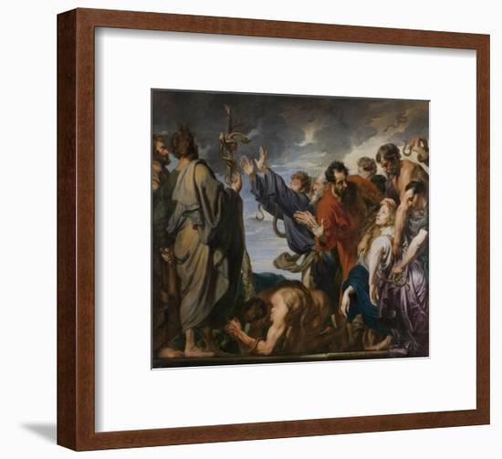 The Brazen Serpent-Sir Anthony Van Dyck-Framed Giclee Print
