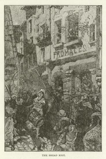 The Bread Riot--Giclee Print