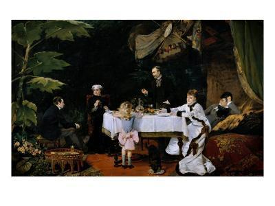 The Breakfast, 1877-Louise Abbema-Giclee Print